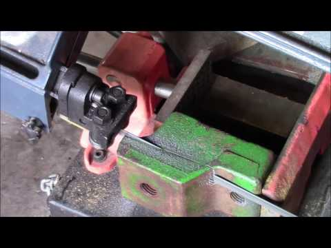 Square Thread Cutting On The Lathe.