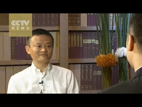Exclusive: Alibaba CEO Jack Ma sits down with CCTVNEWS