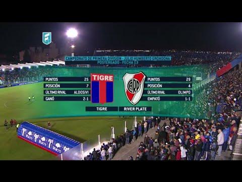 Mirá en vivo: River visita a Tigre con la chance de ser líder del torneo