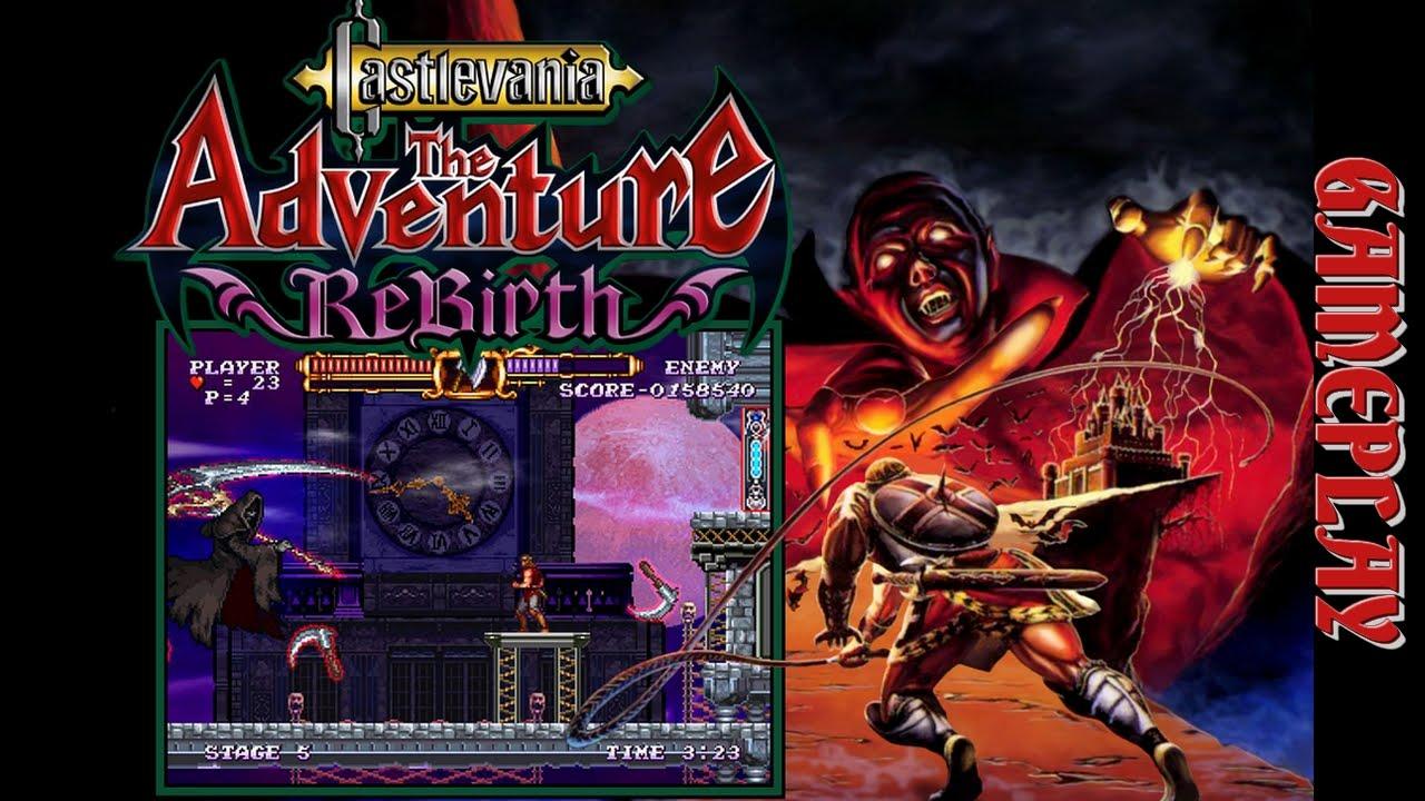 Castlevania: The Adventure ReBirth - Passando a primeira fase sem ...