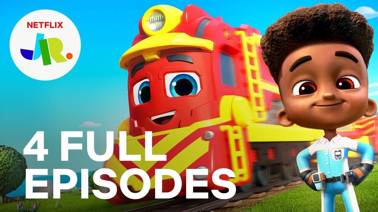 Download Mighty Express Season 1 FULL EPISODE 1-4 Compilation 🚂 Netflix Jr