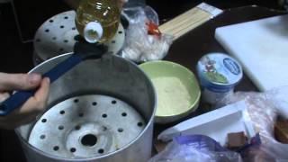 Как готовить манты и хинкали. Часть 6(Продолжение пятой части видео серии