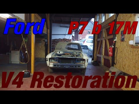 Ford P7b 17M Restoration - First Start In 10 Years! Part 1
