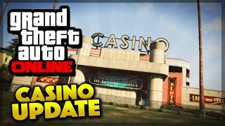 gta v online casino update  games