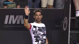 Fognini Battles Back, Cilic Rolls | Rio Open 2018 Highlights Day 1