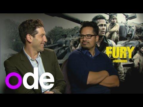'He didn't get star treatment': Fury stars Michael Pena and Jon Bernthal on working with Brad Pitt