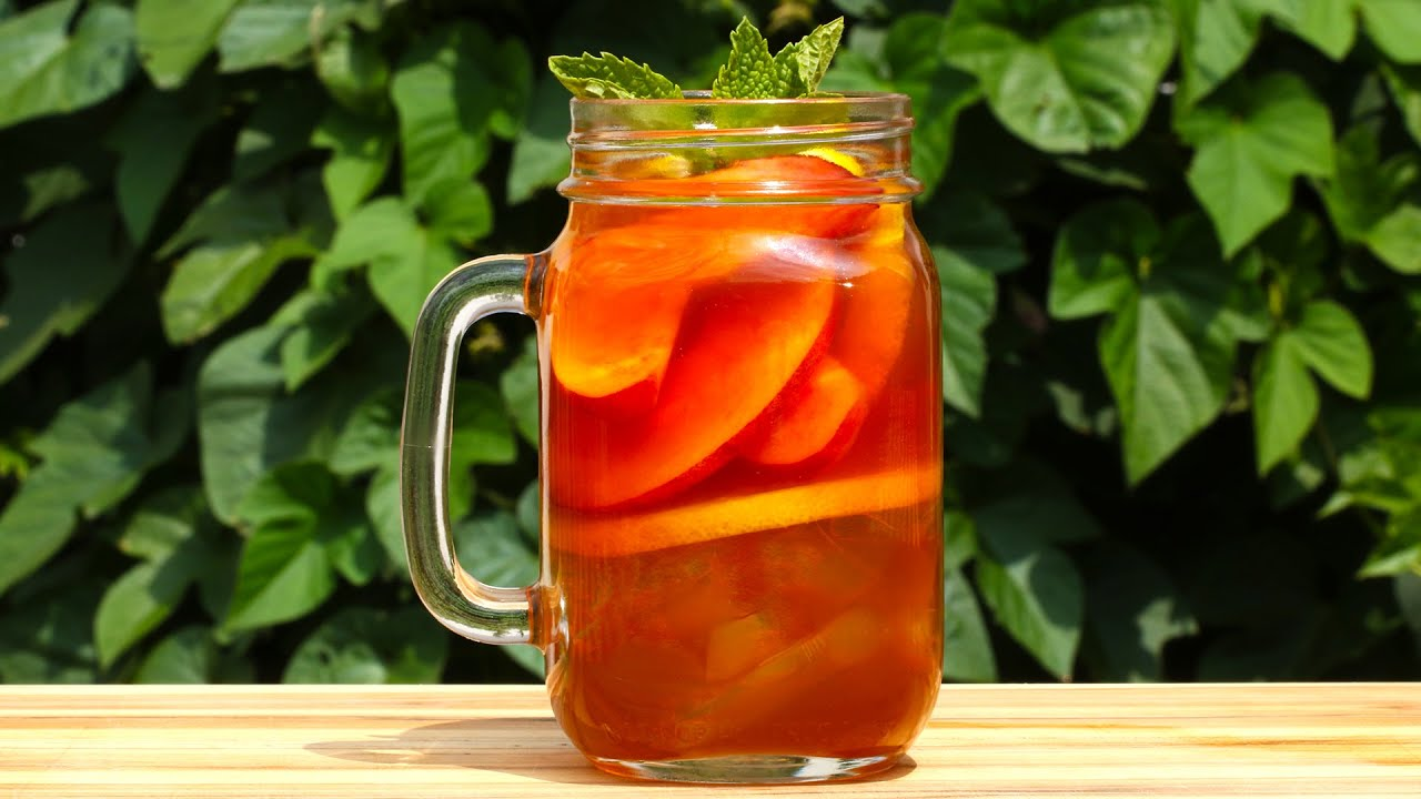 Peach iced tea whiskey youtube for Iced tea and whiskey drink