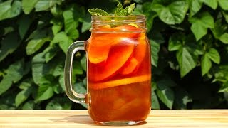 Peach Iced Tea Whiskey