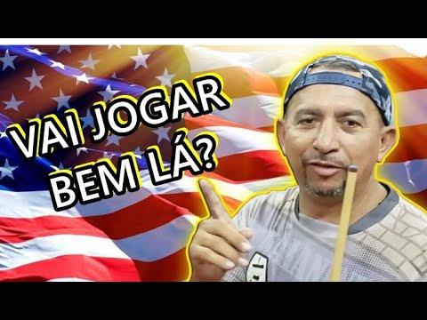 O SHOW DO BAIANINHO NA REGRA AMERICANA! (NINE BALL)