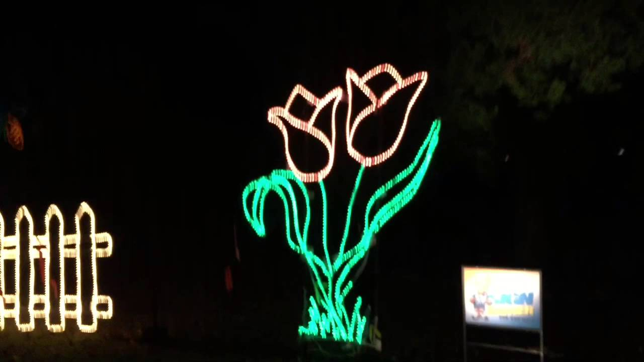 Huntsville Botanical Gardens Galaxy Of Lights Christmas