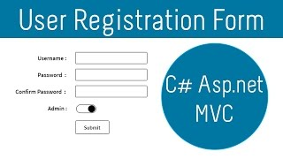 Asp.Net Mvc : User Registration Form Using Entity FrameWork And Sql Server