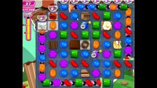 Candy Crush Saga Level 1423 with boosters