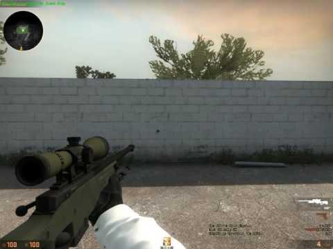 Как сделать в кс го оружие посередине