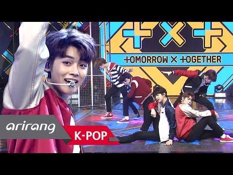 Simply K-Pop Simply&39;s Spotlight TOMORROW X TOGETHER투모로우바이투게더  CROWN어느날 머리에서 뿔이 자랐다  032219