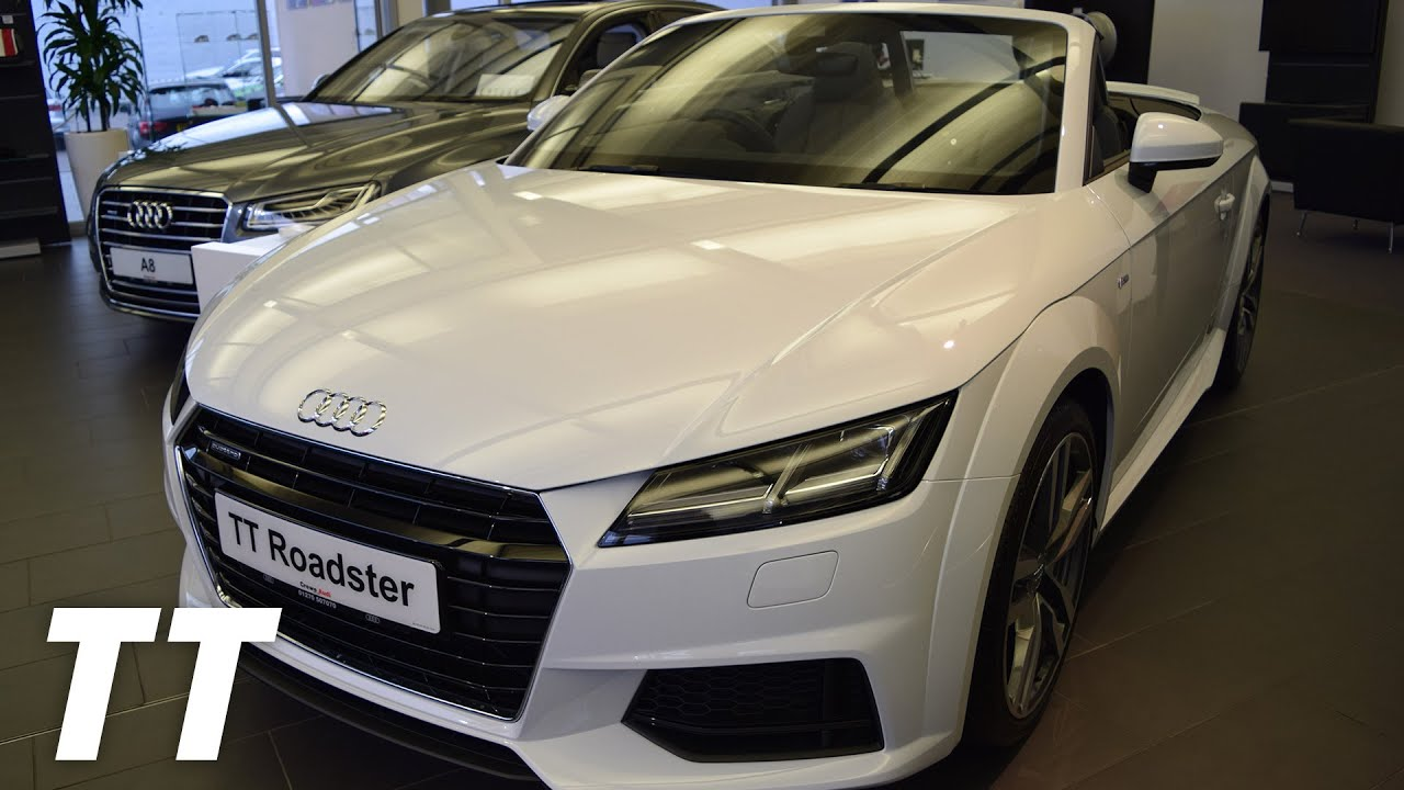 New 2016 Audi Tt Roadster S Line Walk Around Glacier White