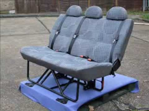 Van Rear Folding Seat Youtube