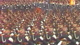 7 ноября 1977г. Москва. Красная площадь. Военный парад.