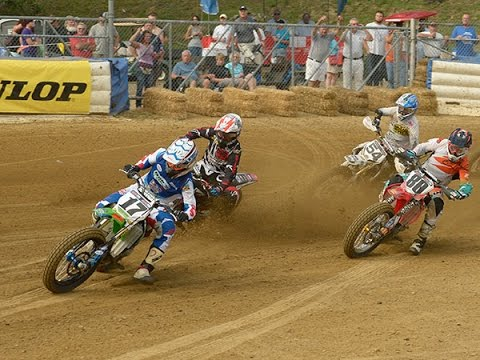 2014 Peoria TT - GNC Main Event FULL Race (HD) - AMA Pro Flat Track