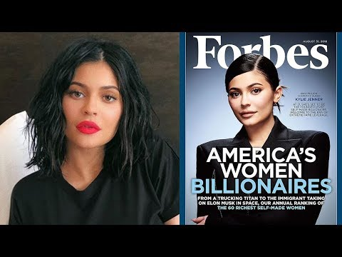 "Fans SLAM Kylie Jenner Forbes Cover For Not Being a ""Self-Made"" Billionaire"