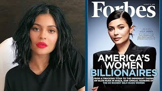 """Fans SLAM Kylie Jenner Forbes Cover For Not Being a """"Self-Made"""" Billionaire"""