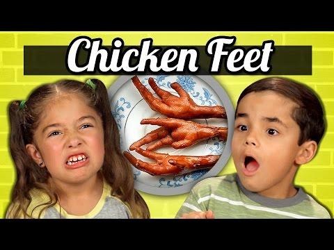 KIDS vs. FOOD - CHICKEN FEET