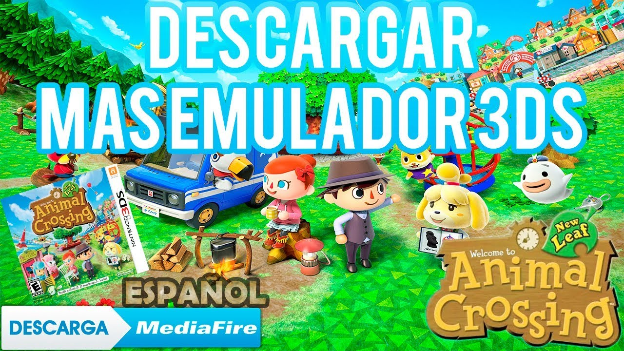 Descargar Animal Crossing New Leaf En Español Para Pc Emulador Actualizado Youtube