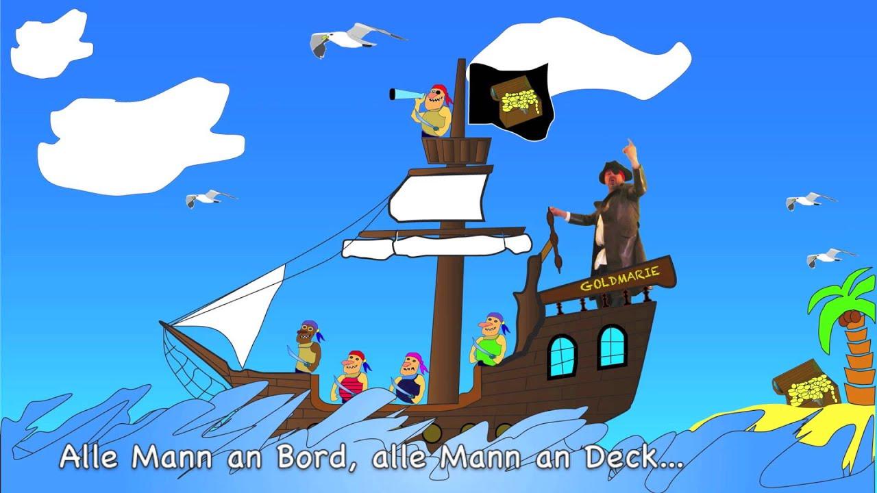 Die Piraten Schießen Mit Tomaten