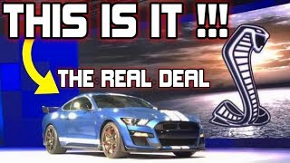 REAL or FAKE? The New 2019-2020 Shelby GT500 is Revealed by Mistake.