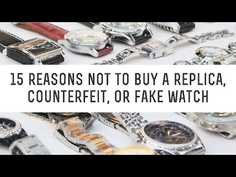 Thumbnail: 15 Reasons Not To Buy A Replica Watch , Counterfeit Watches Or Fake Wristwatch - Gentleman's Gazette