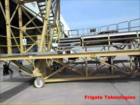 Aircraft Maintenance Docking System - Narrow Body Aircraft - Tail Dock