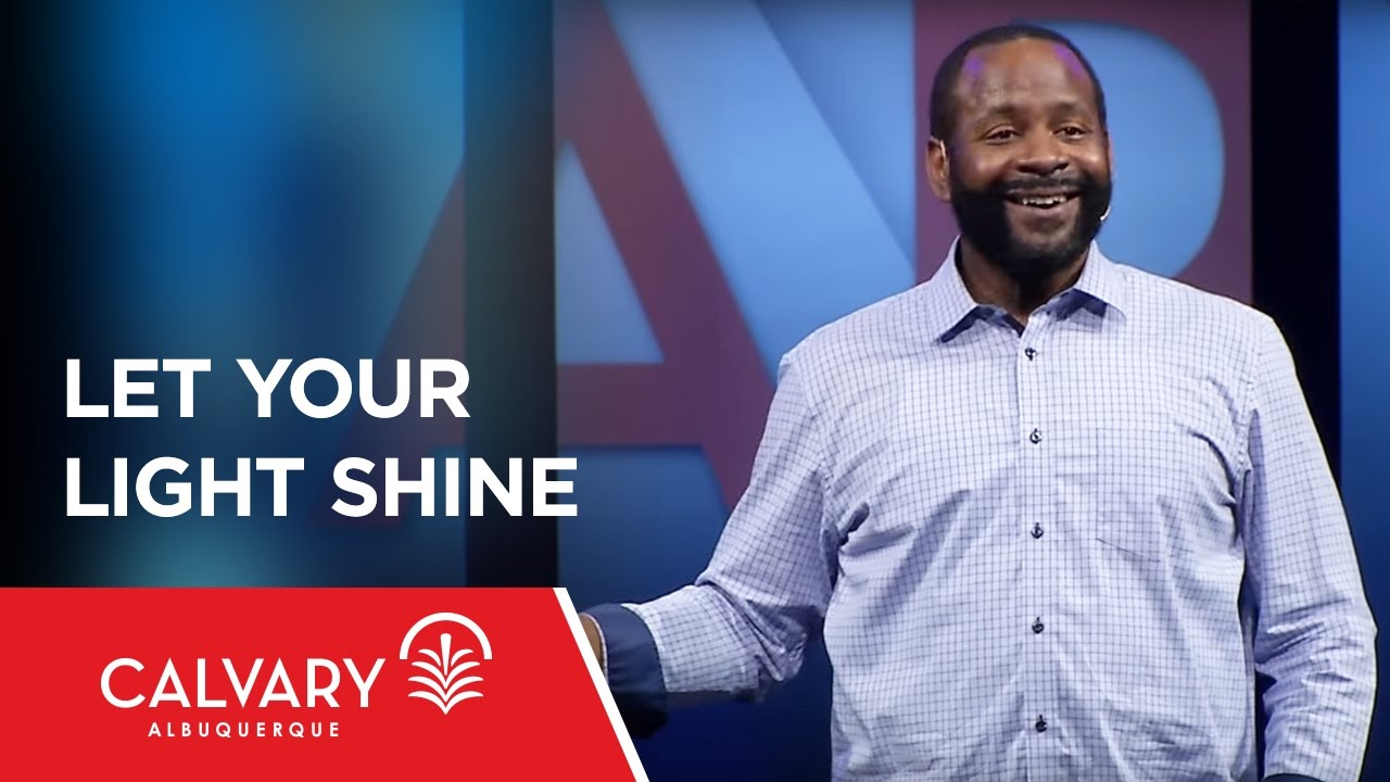 Download Let Your Light Shine - Matthew 5:14-16 - Tony Clark
