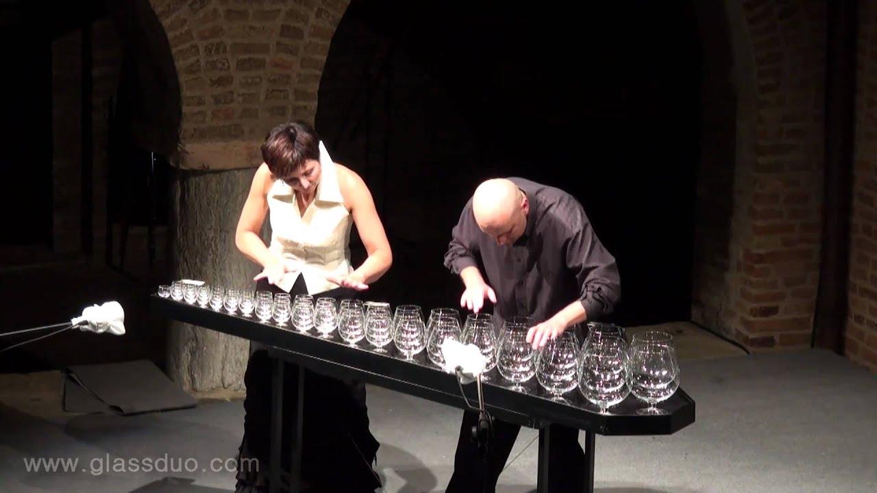 F Chopin Mazurka Op 68 No 2 Musical Glasses Glasharfe Live Youtube