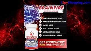 Brain Fire Brain Booster Review - Increase Memory Recall In Women And Men