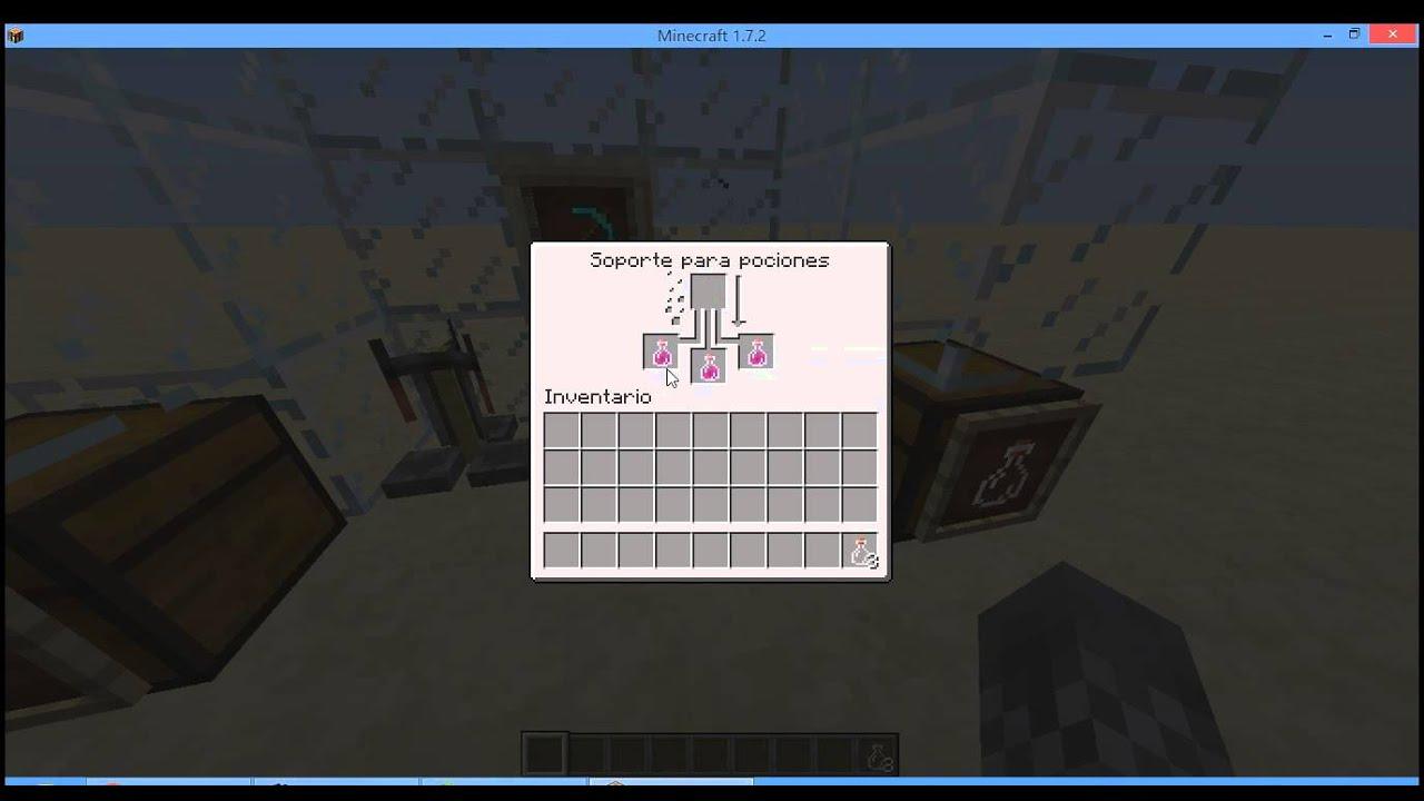 Como hacer una pocion de fuerza en minecraft 1 7 2 youtube - Como se hace una vidriera ...