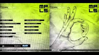 Dompe - The P blues / Beat back LP (Impulse Music)
