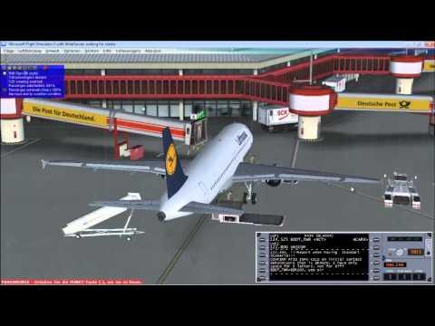 STS 004 Berlin Tegel to Frankfurt Teil1