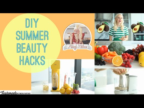 DIY Summer Beauty Hacks