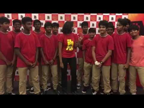 JB'S CHENNAI DANCE CHAMPIONSHIP PRELIMS 2015--DON BOSCO SENIORS INTRO
