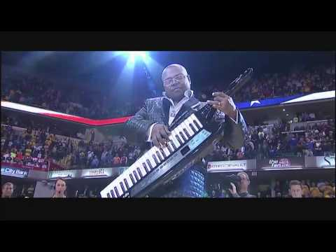 The Best National Anthem Performed by James Lloyd at Bankers Life Fieldhouse - Indiana Pacers