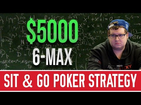 $5000 6-max Turbo Sit & Go Strategy [Episode 2]