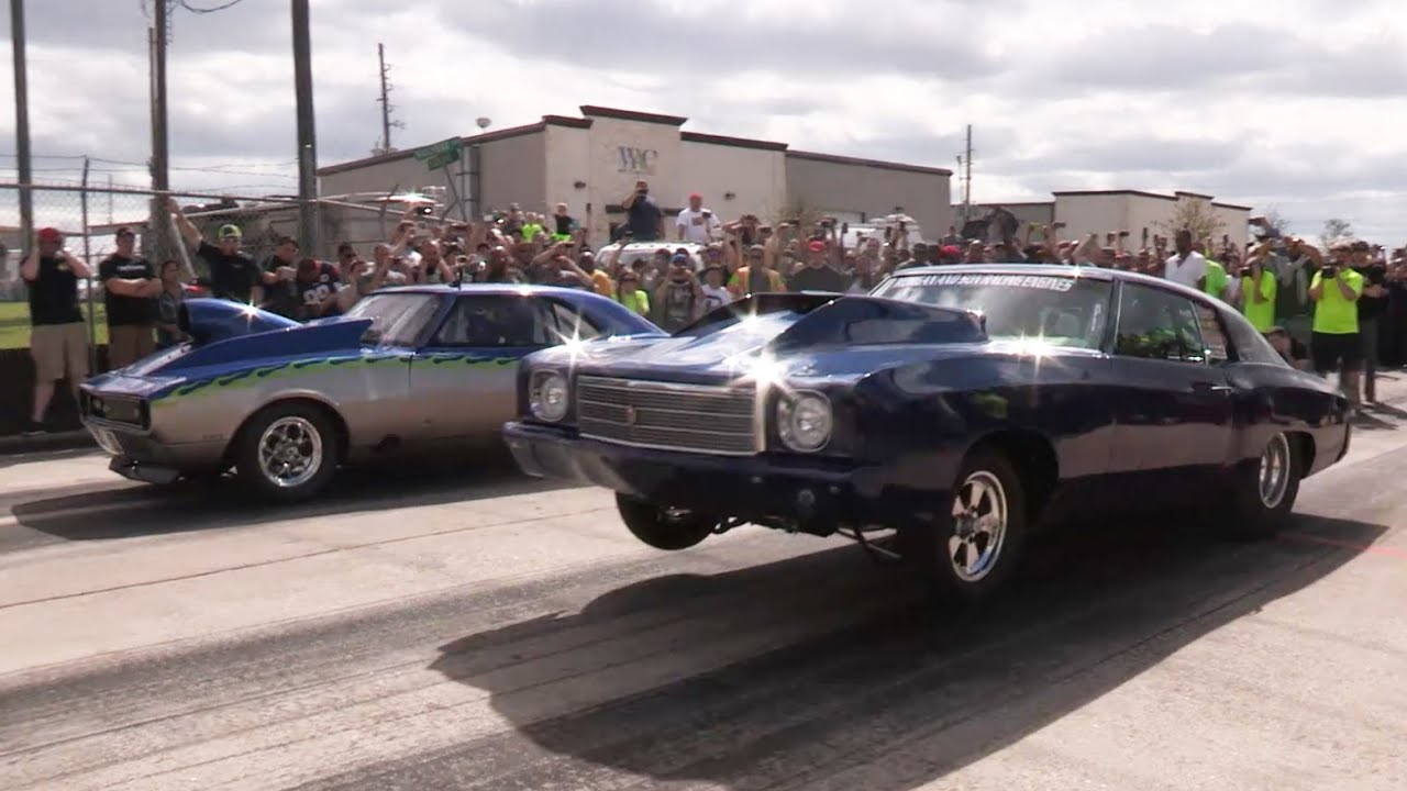 Crazy Street Racing - Dig Night 2015 - Second Round - YouTube