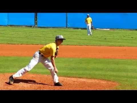 Alexander Gouon Baseball Submarine Pitching