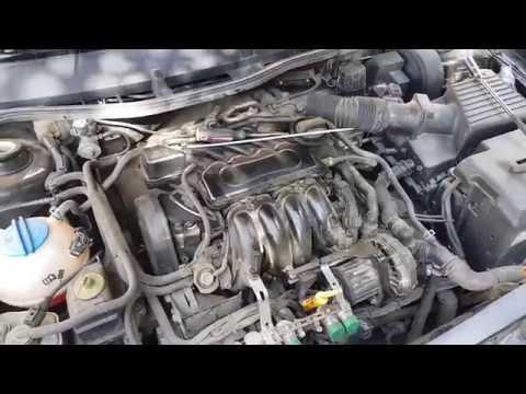 Как заменить свечи двигатель Bfq 102 л.с. Skoda Octavia А4