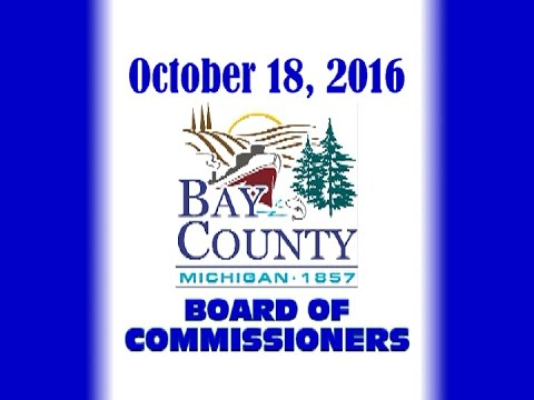 Special Bay County Board of Commissioners - Oct. 18, 2016