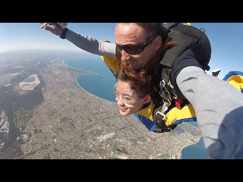 Skydive At Rockingham Beach Australia