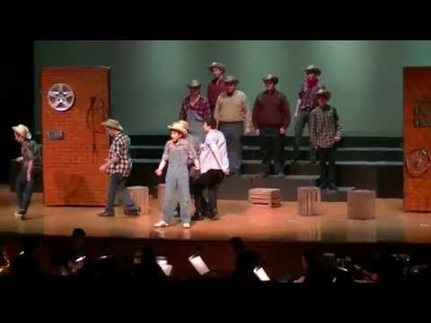 Mama Says Footloose Spring-Ford High School 2015