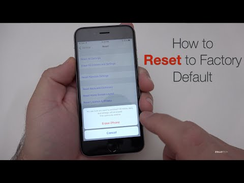 how to factory reset iphone 5c reset iphone 6 5s 5c 5 4s 4 reset to factory sett 3331