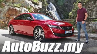 2018 Peugeot 508 GT First Drive in Monaco - AutoBuzz.my