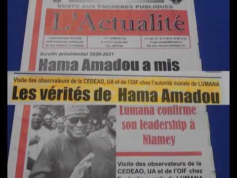 Revue Presse Labari Zarma 08 Janvier