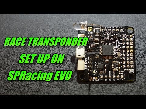 SPRacing Evo Race Transponder Set Up